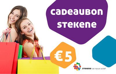 Stekense Cadeaubon 5€